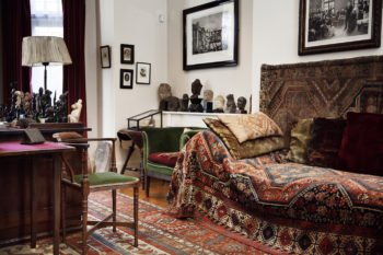 Sigmund Freud's Study at the Freud Museum - Psychoanalytic Couch